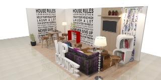 """HOMEDEC akan memamerkan ruang tamu tematik """"Living Space"""" untuk menyediakan berbagai ide dan inspirasi kepada pengunjung"""